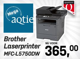 Mega-aqtie Brother laserprinter